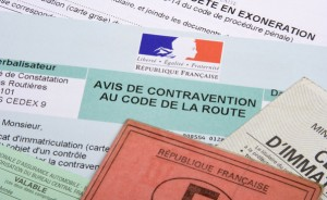 Contravention pour infraction au code de la route